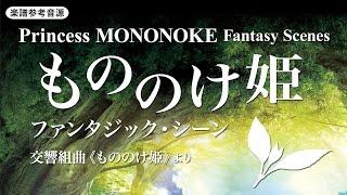 楽譜「もののけ姫」ファンタジック・シーン 交響組曲《もののけ姫》より/久石譲(森田一浩)/Princess MONONOKE Fantasy Scenes
