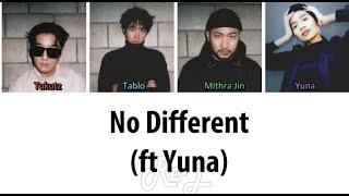 Epik High 에픽하이 - 'No Different (ft Yuna)' LYRICS (Color Coded ENGLISH)