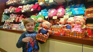 Рошен Новогодние Подарки Мягкие Свинки Риша в Магазине Roshen в Одессе Новогодний Марафон 2019