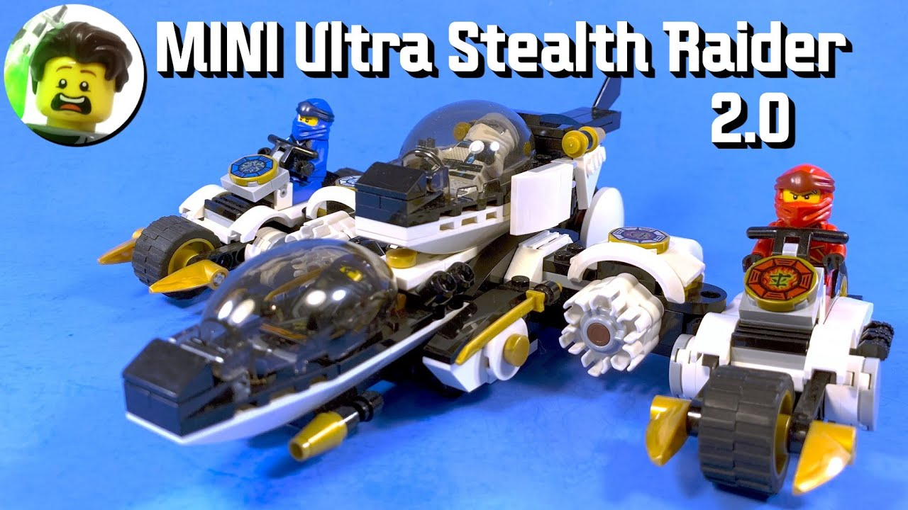 LEGO Ninjago Mini Ultra Stealth Raider 2.0