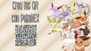 Crea Tus QR Con PokeHEX