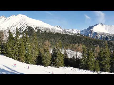 Štrbské Pleso - prvá lyžovačka sezóny 2015/16 vo Vysokých Tatrách