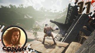 CONAN EXILES (NEW SEASON) - EP11 - Leaving The Swamp/Jungle Biome! (Gameplay Video)