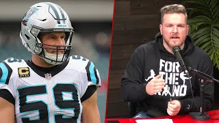 Pat McAfee Reacts To Luke Kuechly's Retirement