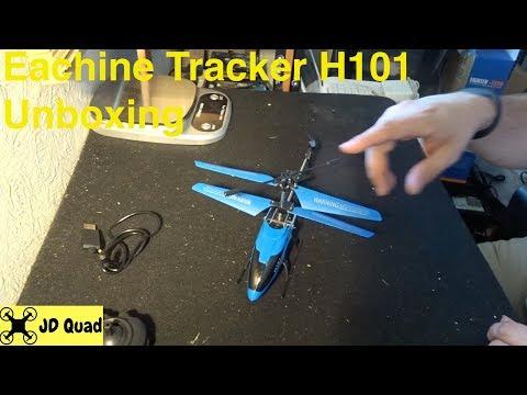 Eachine Tracker H101 Unboxing - Courtesy of Banggood