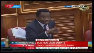 Senator James Orengo gives Kipchumba Murkomen free advice on leadership, fame and fortune