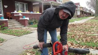 Black and Decker Leaf Blower Vacume review