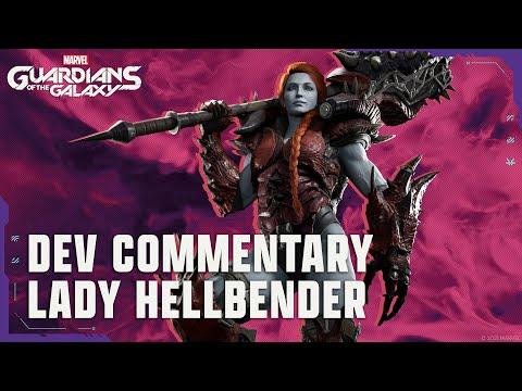 Cinématique de Lady Hellbender [commentaire de développeur] de Marvel's Guardians of the Galaxy
