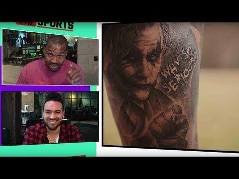 Odell Beckham Jr. Show's off CRAZY new tattoos!   TMZ Sports