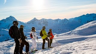 Dji Osmo:  Skiing Les 2 Alpes 2016