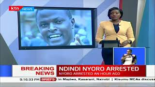 BREAKING NEWS: Kiharu MP Ndindi Nyoro arrested