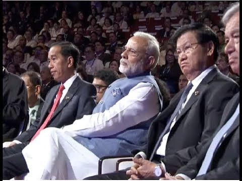 PM Modi attends Opening Ceremony of the 31st ASEAN Summit at Manila, Philippines