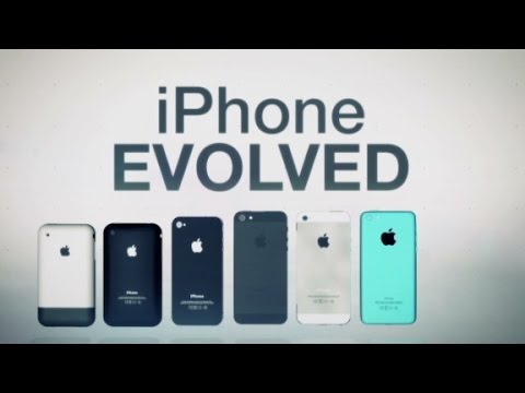The iPhone evolved