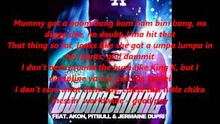 DJ Felli Fel feat Akon, Pitbull & Jermaine Dupri - Boomerang Lyrics