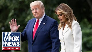 Trump Arrives At White House On Marine One On Memorial Day