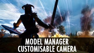 Skyrim Mod: Model Manager & Customisable Camera