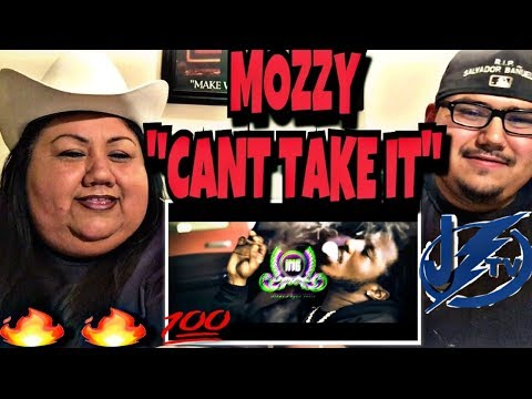 "MY MOM REACTS TO MOZZY ""CANT TAKE IT"" (IM A GANGSTA) FT. BOBBY LUV"