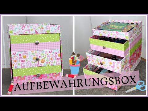 Schmink- & Schmuck-Aufbewahrungsbox  ♡ DIY