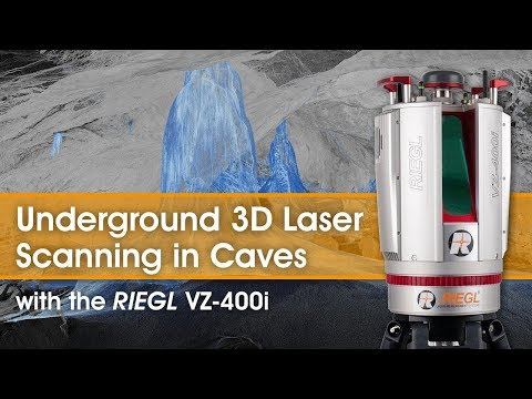 Underground Cave Scanning using the RIEGL VZ-400i Terrestrial Laser Scanner