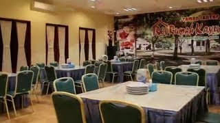 Restoran Rumah Kayu Menawarkan Kosep Menyatu dengan Alam