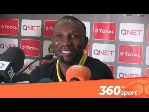 العرب اليوم - شاهد: ايبنغي يعلّق على حكم مباراة الرجاء وفيتا كلوب
