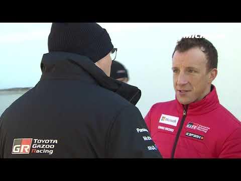 KrisMeeke's testing - 2019 WRC Rallye Monte Carlo - Michelin Motorsport