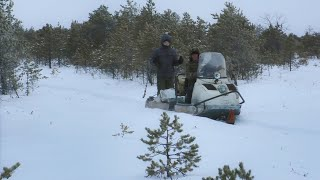 Зимняя рыбалка на озеро тирикуль