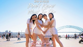 """[KPOP IN PUBLIC CHALLENGE] BLACKPINK - """"Don't Know What To Do"""" Dance Cover by MONOCHROME"""
