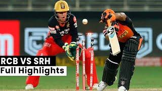 IPL 2020, SRH VS RCB 3rd IPL Match full Highlights: As it Happened