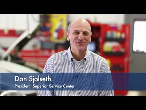 Superior Service Center video