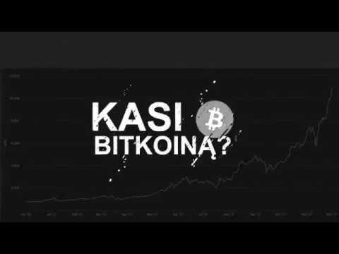 Bitkoino kaina