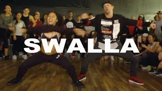 'SWALLA' - Jason Derulo ft Nicki Minaj Dance | @MattSteffanina Choreography