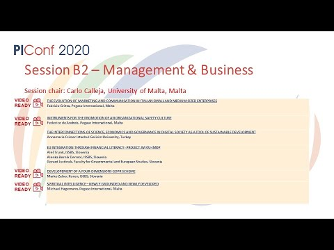 Session B2- Business and Management