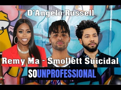 So Unprofessional: D'Angelo Russell | Remy Ma Arrested | Don't wash your Chicken