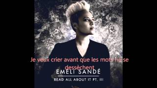 Emeli Sandé - Read All About It - Traduction Française