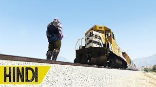 Thanos Vs Train Behan in GTA 5 - Hindustani Gamer