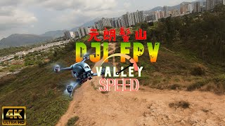 DJI FPV High speed Flight Valley [4K 50fps] M mode 香港 元朗 髻山