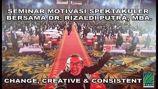 "Seminar Motivasi ""SPEKTAKULER"" PT. First Resources Bersama Dr.Rizaldi Putra, MBA."