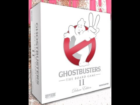 The Purge: # 1418 Ghostbusters: The Board Game II: A shorter Unboxing with just the boxed and no extras