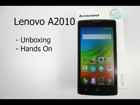 Lenovo A2010 Unboxing and Hands On Overview - Most Affordable 4G Smartphone