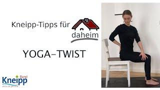 Video Yoga-Twist (Energiekick für den Tag) - Kneipp-Tipps für daheim Teil 8 abspielen