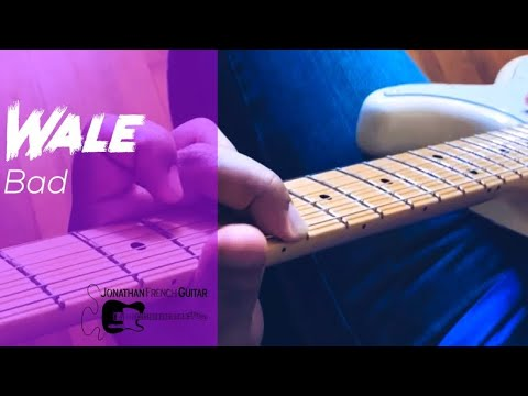 "Guitar Tutorial for ""Bad"" by Wale! Check out this awesome tutorial and learn how to play ""Bad"" by Wale on guitar!"