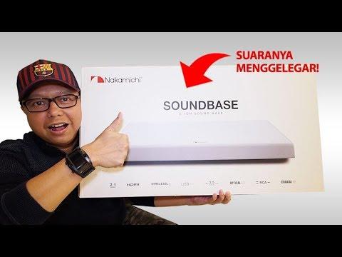 3jt-an.. Buka box NAKAMICHI SOUNDBASE 2.1 CH, Suaranya Menggelegar!!