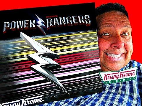 Krispy Kreme® Power Rangers Doughnuts Review!
