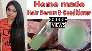 Home Made Hair Conditioner And Serum In தமிழ் | Prevents From Damage | Summer Hair Care |