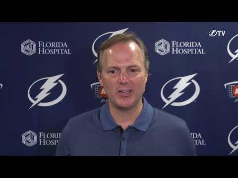 Tampa Bay Lightning exit interview -- Coach Jon Cooper