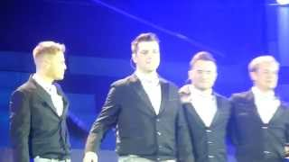 Westlife Leaving the stage @ Croke Park for the last time