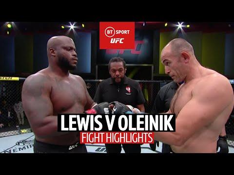Lewis sets UFC record! Derrick Lewis v Alexei Oleinik | UFC Highlights