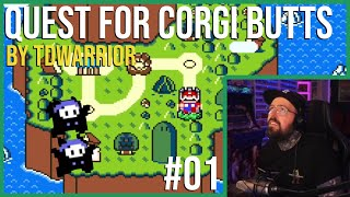 Quest for Corgi Butts (#01) | Funky Ghost House 🕺