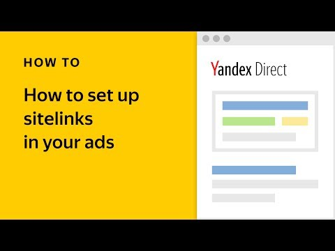 How to set up sitelinks in your ads